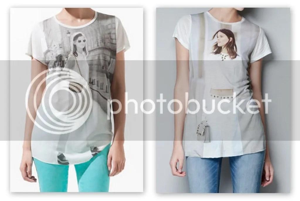 2012 ZARA Hanneli Mustaparta Immortalized T-Shirt