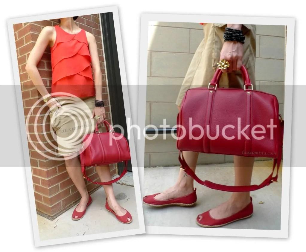Fauxionable Outfit - Ruffles & Khaki