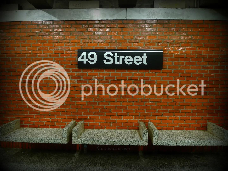 New York Subway 49th Street