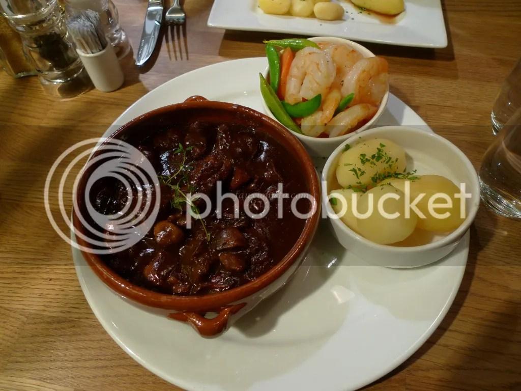 Beef stew at Albertine Cafe & Bar Oslo