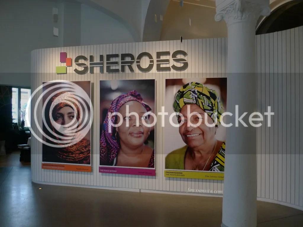 Sheroes Nobel Peace Center Oslo Main Exhibit