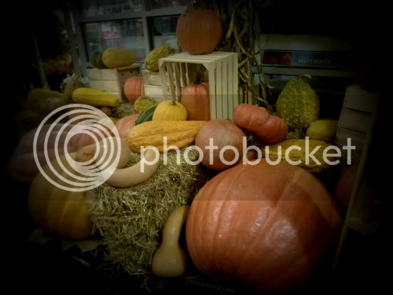 Chelsea Market New York Fall Pumpkin Decor