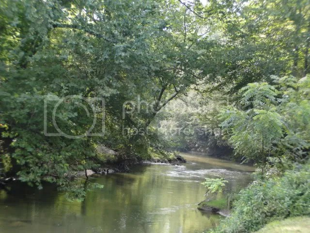 Let's go down the river today!  Nice sandy beach drop-in for your kayak/tube/canoe, 00 Brown Road Otto NC, Otto NC Land for Sale!