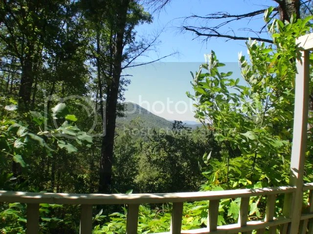 What a view from the wrap-around deck!, Free MLS Search, Western North Carolina Property, Mountain Homes for Sale, North Carolina Homes, Macon County Real Estate