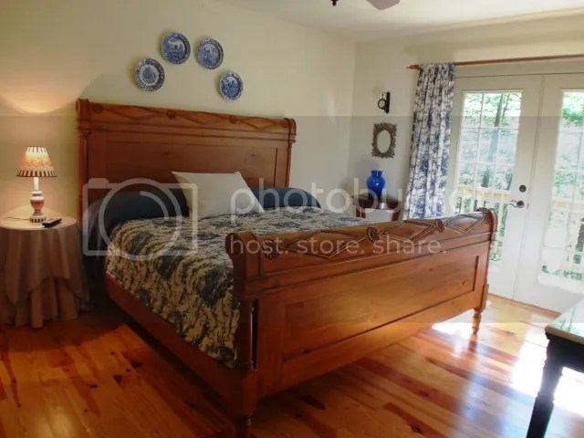 One of two beautiful bedrooms, 151 Buck Falls Road Highlands NC, Keller Williams Realty, John Becker Bald Head