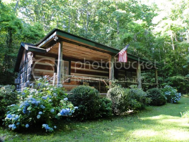 206 Old Smokey Gap Road Franklin NC Log Cabin for Sale