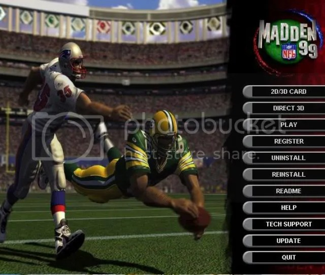Any Interest In Work On Madden 99 Pc