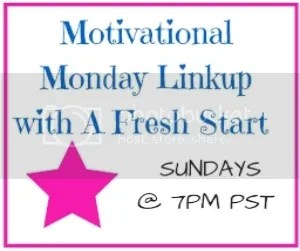 Monday Motivation Linkup on AFreshStartonaBudget.com |@bisforbookworm