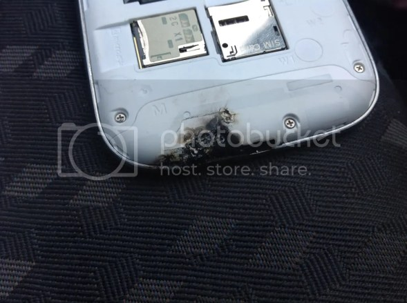 Samsung Galaxy S 3 Caught Fire and Exploded
