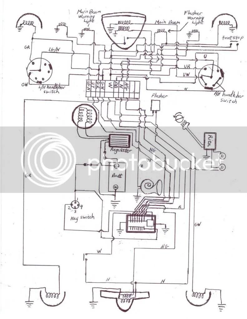 medium resolution of norton commando wiring diagram