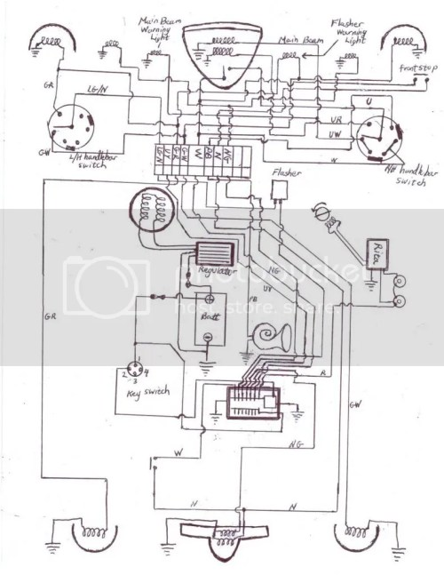 small resolution of bsa positive ground wiring diagram wiring librarybsa positive ground wiring diagram