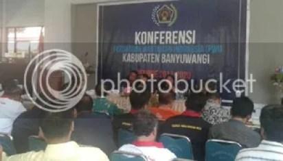 PWI Banyuwangi Ganti Nahkoda, Saifudin Terpilih Jadi Ketua Konferensu Ke-2