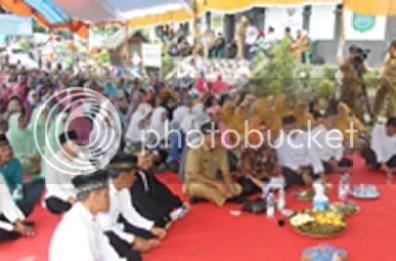Syukuran Pasar Rakyat Sukamelang dan Isra Mi'raj