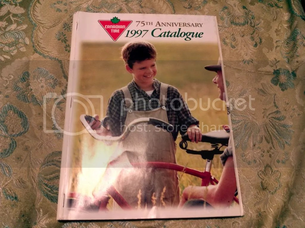 Old Canadian Tire Catalogues