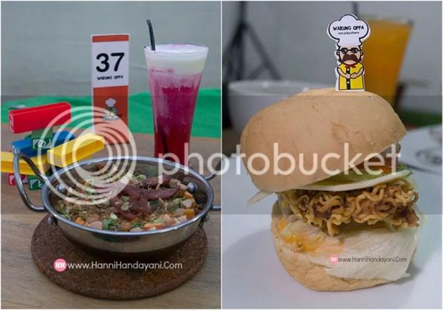 Nasi Panggang & Mie Burger Warung Oppa