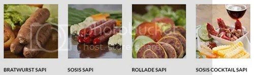 Produl olahan daging sapi Fiva Food