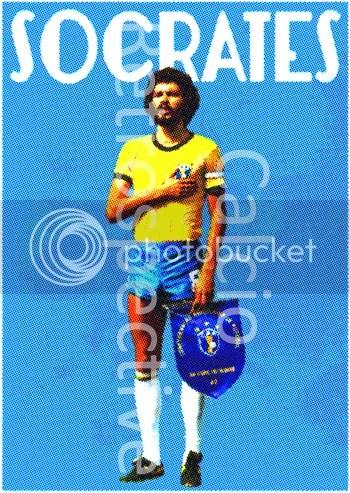 Socrates poster | calcioretrospective