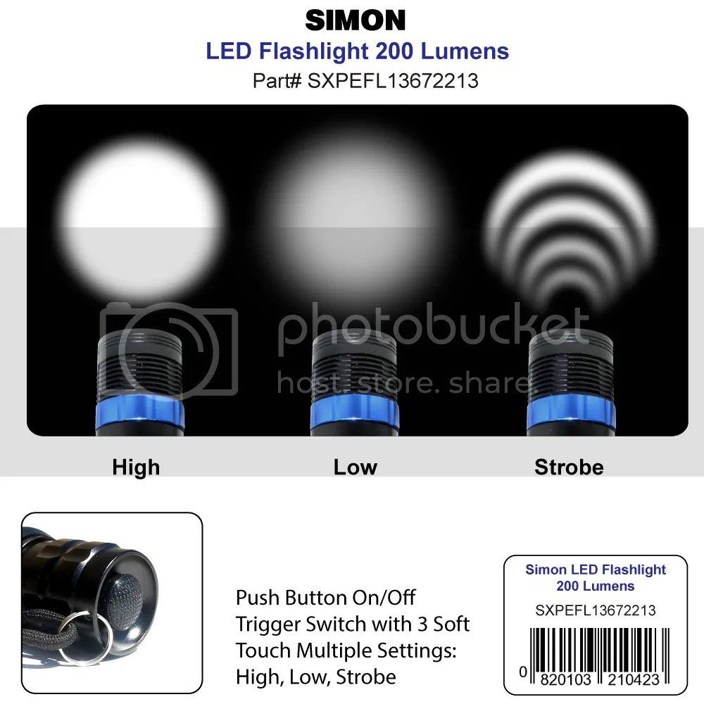 Simon XPE Light Beam Modes