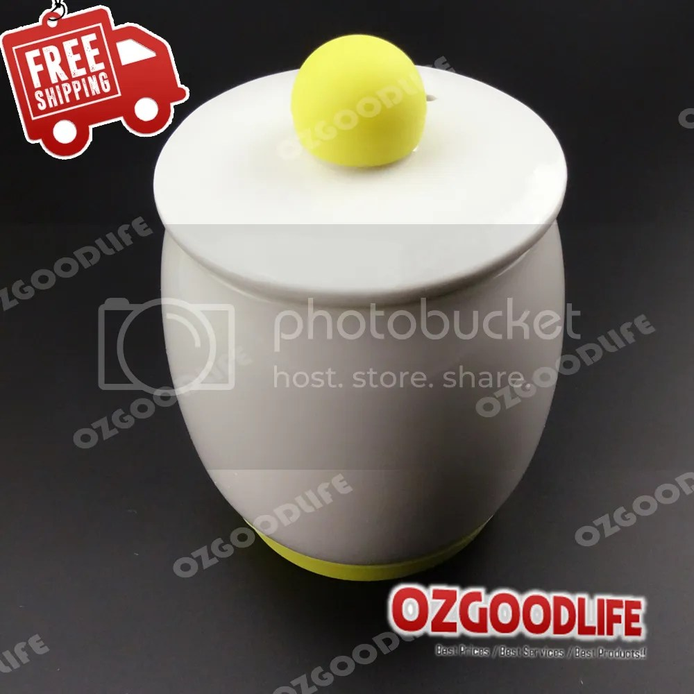 Ceramic Microwave Egg Cooker and Poacher for Fast and