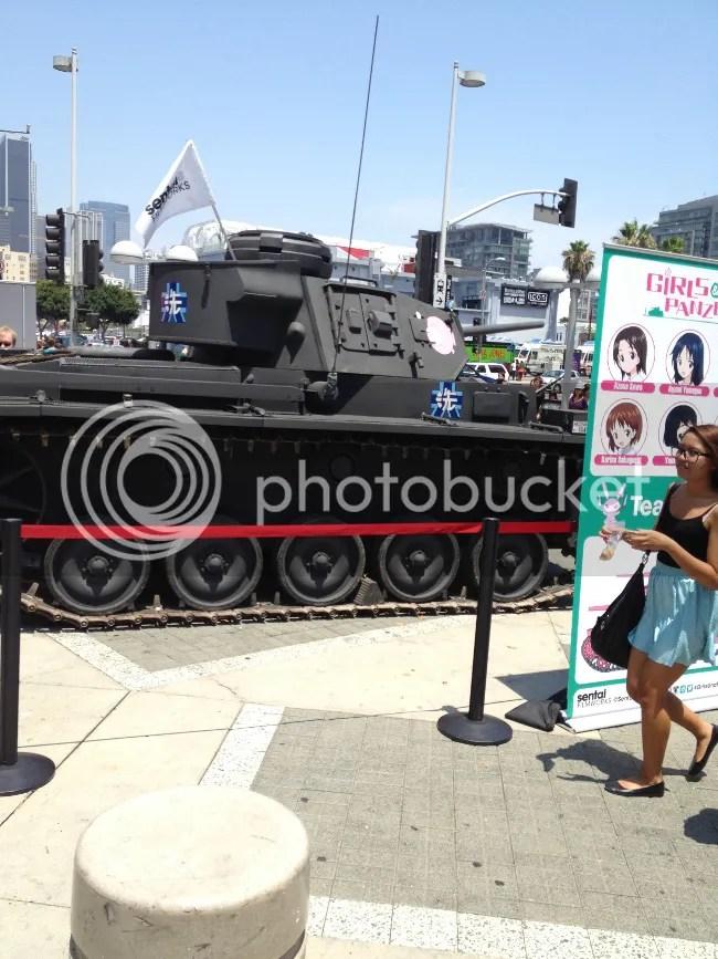 Girls und Panzer Tank