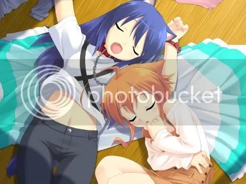 Kotarou and Mikan