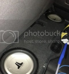 heres some pics of the subs amp and the loc now what goes where and what does what also what where are the speaker wires to tap into  [ 1024 x 768 Pixel ]
