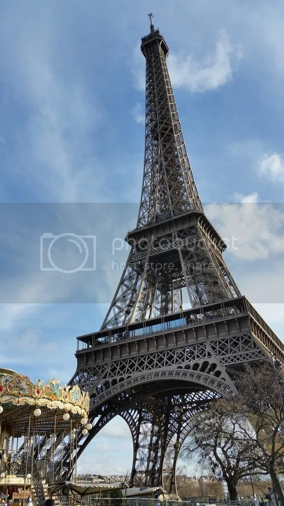 Eiffel Tower in Day - Back