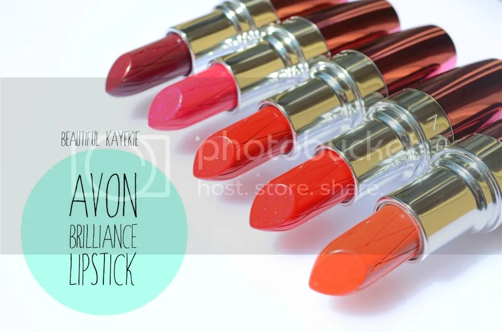 Avon Ultra Color Rich Brilliance Lipstick Review & Swatches