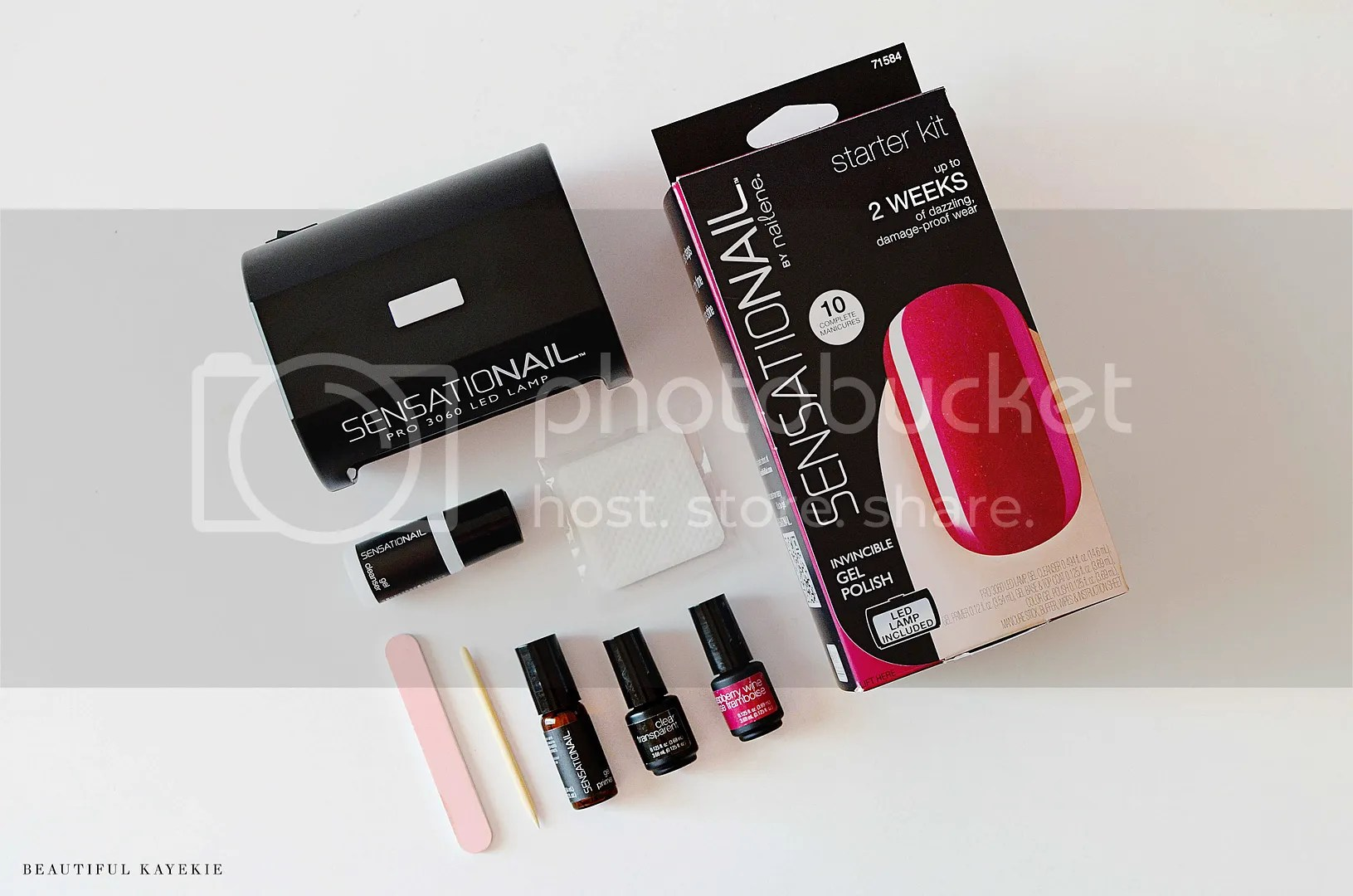 sensationail review swatch gel nail uv australia