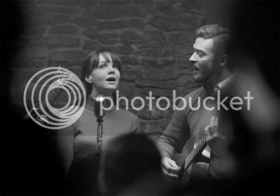 Carey Mulligan y Justin Timberlake en Inside Llewyn Davis