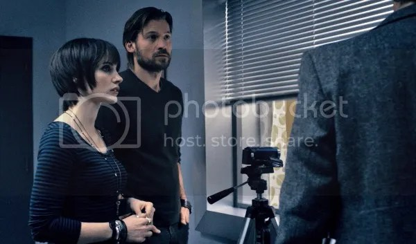 Jessica Chastain y Nikolaj Coster-Waldau en Mama, de Guillermo del Toro
