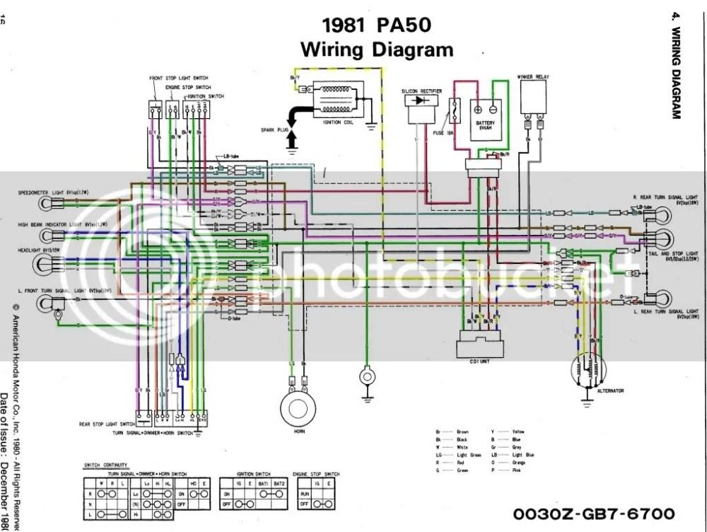medium resolution of wiring diagram honda pa 50 camino house wiring diagram symbols u2022 1964 honda 50 wiring