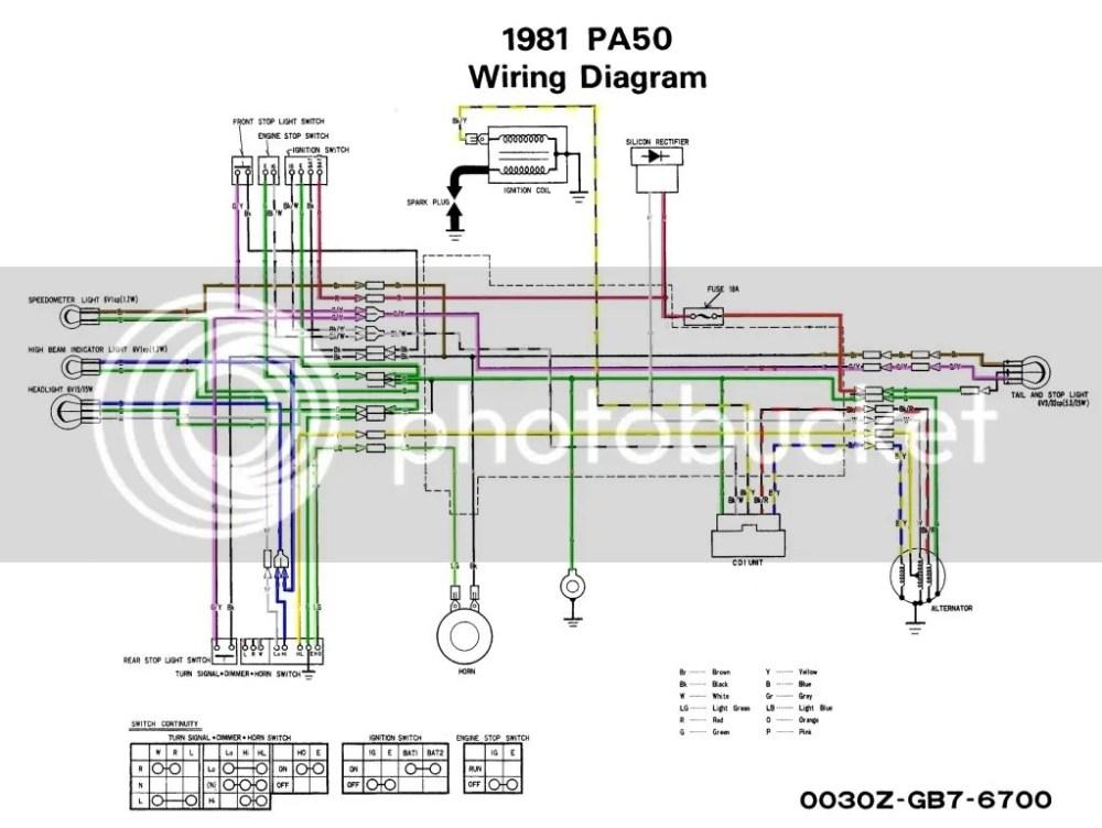 medium resolution of  pa50schematicnobatorblinkers original diagrams 500380 honda pa50 wiring diagram awesome interactive 1978 honda pa50 wiring diagram