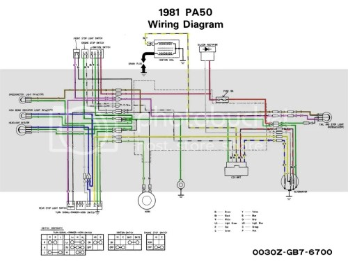 small resolution of  pa50schematicnobatorblinkers original diagrams 500380 honda pa50 wiring diagram awesome interactive 1978 honda pa50 wiring diagram