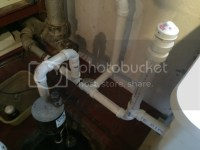 Sump Pump Causes Gurgle In Utility Sink? Vent?