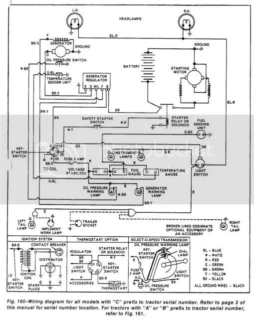 Old Ford Tractor Wiring Diagram on
