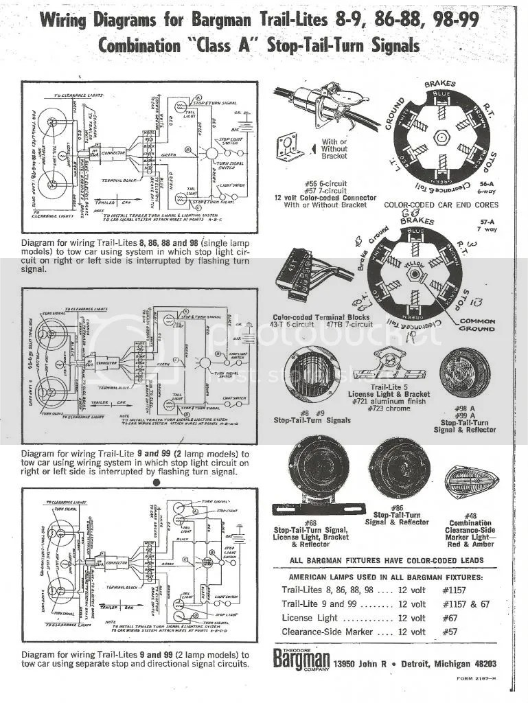 Wiring Diagram For Vintage Shasta C Er Auto Electrical 2005 Maserati Related With