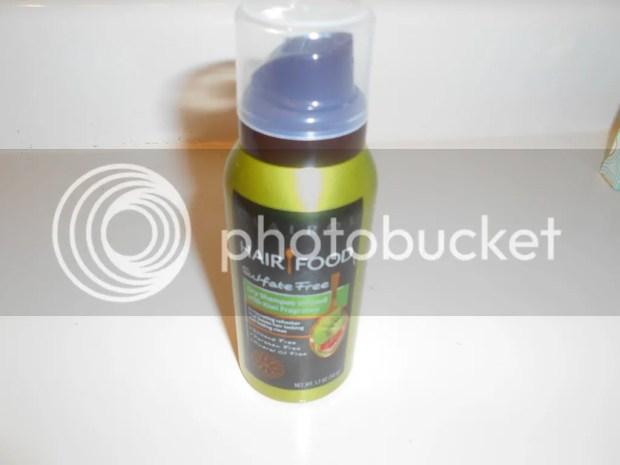 target beauty box hair food dry shampoo