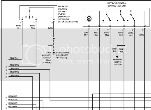B55 Wagon door Wiring Diagram