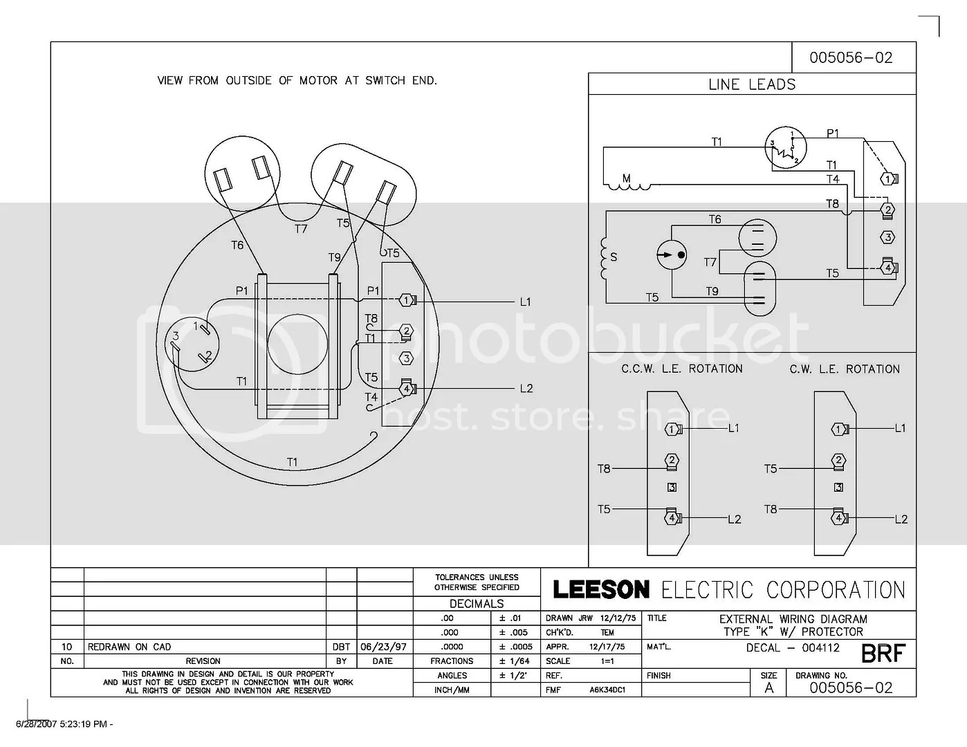 century electric motor wiring diagram mopar starter relay 5 hp compressor ingersoll rand 23220064 or