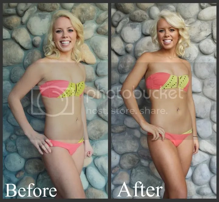 versa spa spray tan before and after