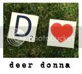 Deer Donna Button