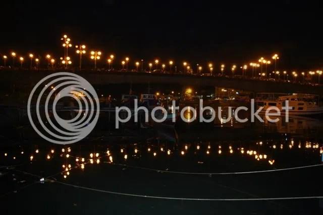 Padang at night