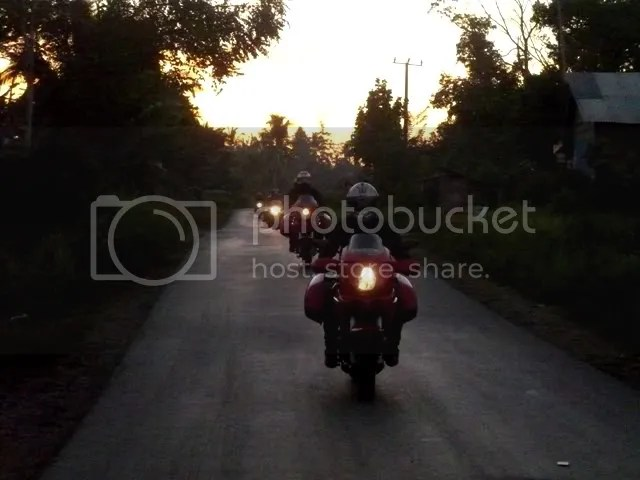 Morning ride from Ipuh