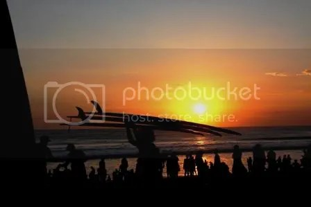 Sunset at Kuta Beach 08