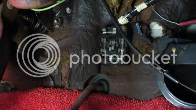 67 Mustang Fuse Box