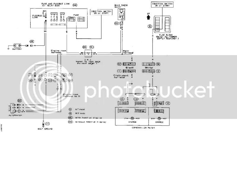Nissan Alternator Wiring Diagram