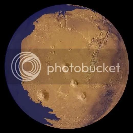 mars had water