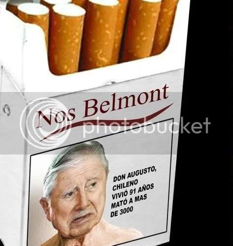 Pinochet, nocivo para la salud