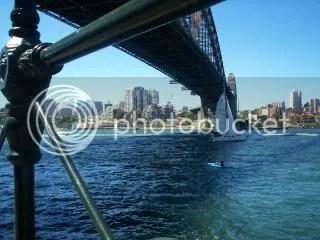 Sydney Harbour Friday Sky